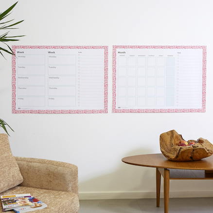 TTS Wipeable Weekly and Monthly Planners  large