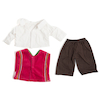 Role Play Multicultural Dolls Dressing Up Clothes  small