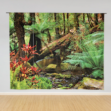 Immersive Environments Backdrop Rainforest  medium