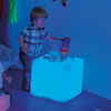 Sensory Colour Changing Light Cube Table 40cm  small