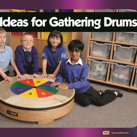 30 Ideas for Gathering Drums Book  large