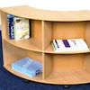 Wooden Curved Bookcases  small