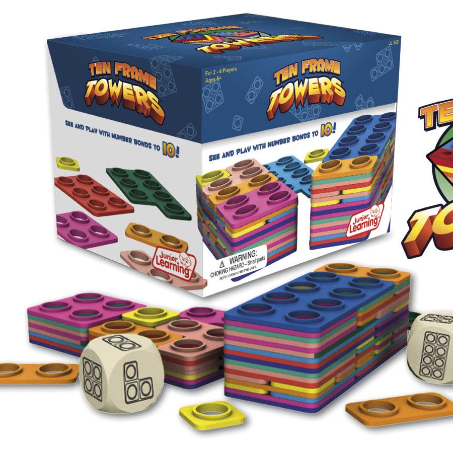 Buy Ten Frame Towers Game Tts