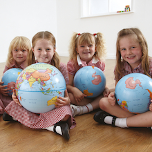 KS1 Discovery Globes Class Pack 5pk  medium
