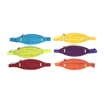 Six Colour Waist Bags 6pk  large