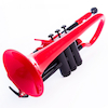 pCornet Plastic Cornet Instrument Red  small