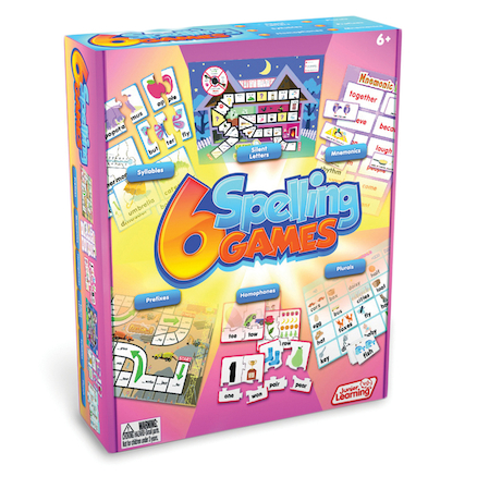 Spelling Board Games 6pk  large