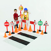 Deluxe Road Safety Set 28pcs  small