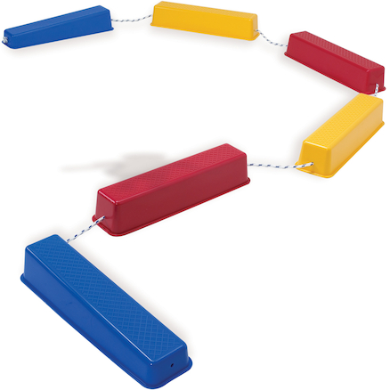 Plastic Stepping Balance Logs  large