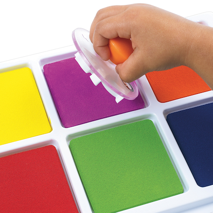 Assorted Jumbo Stamp Pad  large