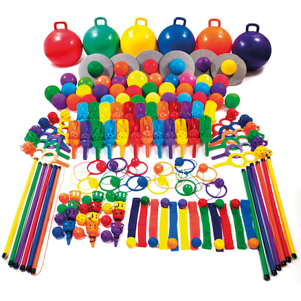 Six Colour Mega Playground Pack  large