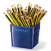 Staedtler Triplus Chunky Triangular Pencils 48pk  small