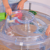 Circular Sand and Water Play Table  small