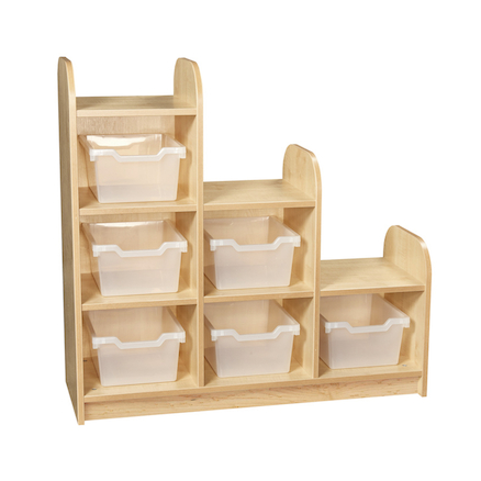 Kubbyclass Stepped Cube Storage Left  large