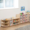 Solway Early Years 2 Shelf Corner Storage Unit  small