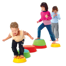 Coloured Stepping Stones 6pcs  medium