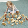 Natural Wooden Small World Farm Accessories  small