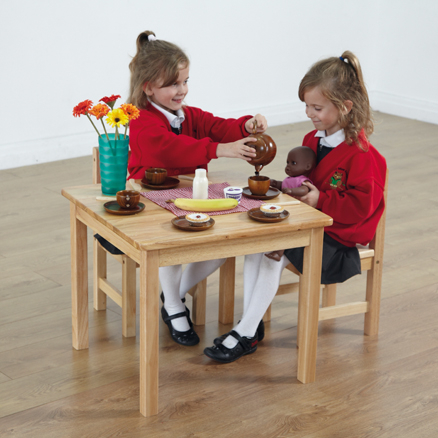 Role Play Wooden Table and Chairs  large
