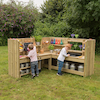 Outdoor Corner Kitchen Unit with Standard Delivery  small