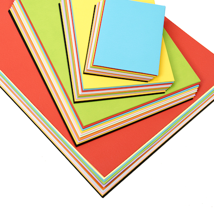 Assorted Rainbow Card 230micron  large