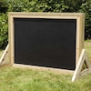 Outdoor Wooden Chalkboard  small