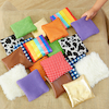Find the Match Fabric Sensory Squares  small