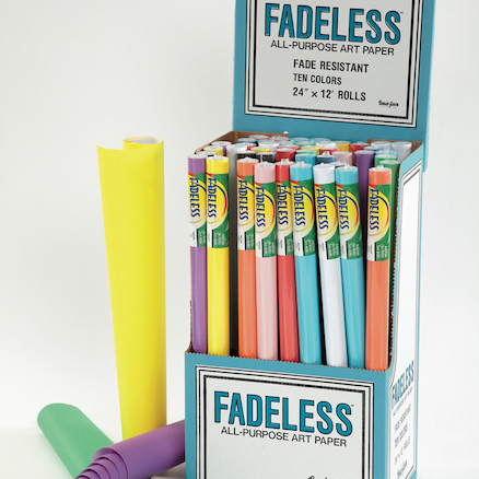 Standard Fadeless Poster Paper Roll Assortment  large