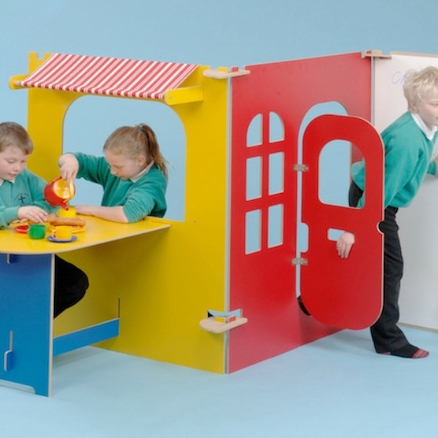 Caf\u00e9 and Tearoom Role Play Panels 3pcs  large