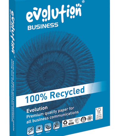 Evolution 100% Recycled Copier Paper 100gsm  large