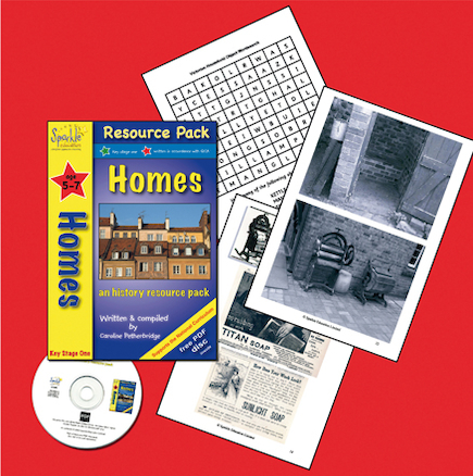 Complete Homes Topic Resource Pack and CD  large