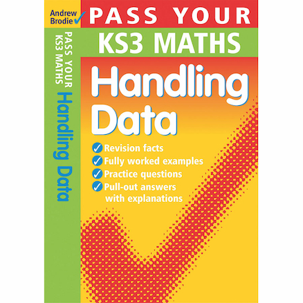 Pass Your KS3 Maths Handling Data Revision Book  large