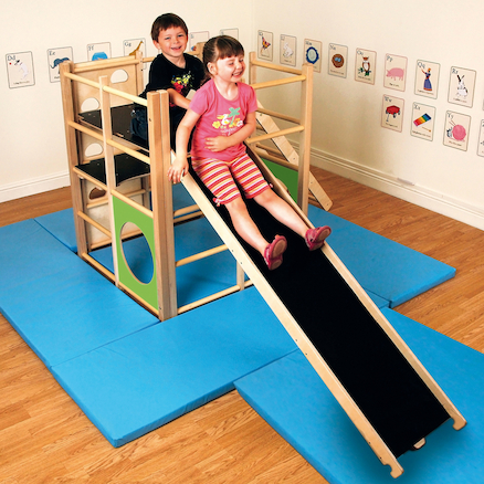 Indoor Wooden Climbing Frame  large