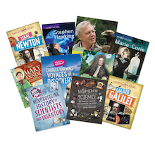 Famous Scientists Book Pack  medium