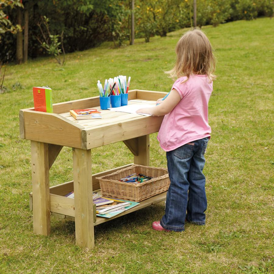 Buy Outdoor Wooden Work Bench And Trestle Tts