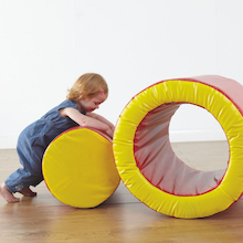 Soft Play Roley Poley Circular Block and Ring  medium