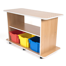 Wooden Storage Trolley  medium