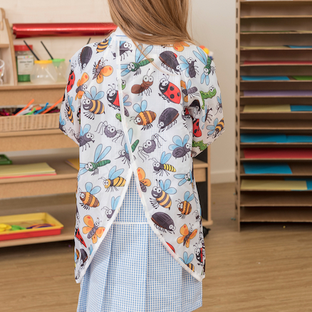 Patterned Waterproof Aprons 6pk  large