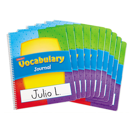 Vocabulary Journal 10pk  large