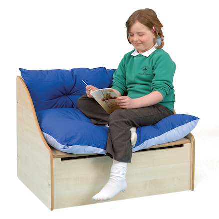 Maple Reading Corner Sofa L82 x D60 x H60cm  large