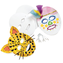 Decorate your own Masks 24pk  medium