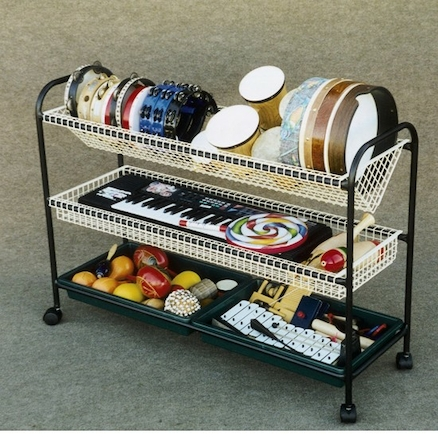 Versatile Music Storage Trolley  large