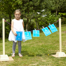 Large Role Play Washing Line with Pegs  medium