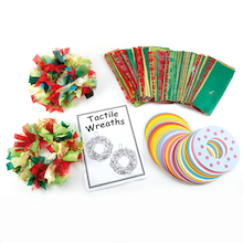 Tactile 3D Christmas Decorations 30pk  medium