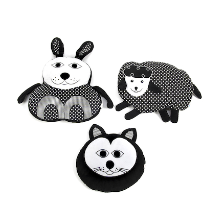 Black and White Animal Cushions Buy All and Save  large