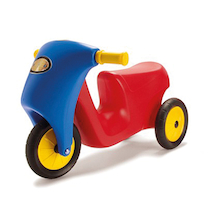Rubber Wheeled Scooter  medium