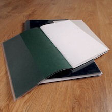 A4 Clear Polythene Sketchbook Covers  medium