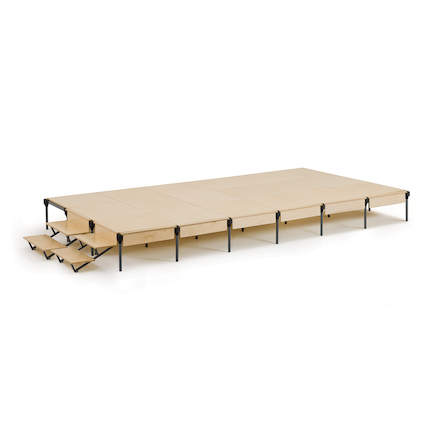 2.25m x 4m 18 Panel Stage Kit  large