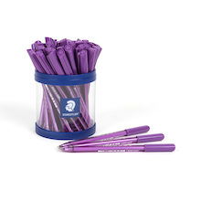 Staedtler Purple Ballpoint Pens 40pk  medium
