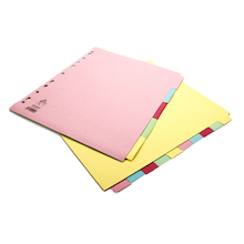 A4 Manilla File Dividers 5 Part  medium