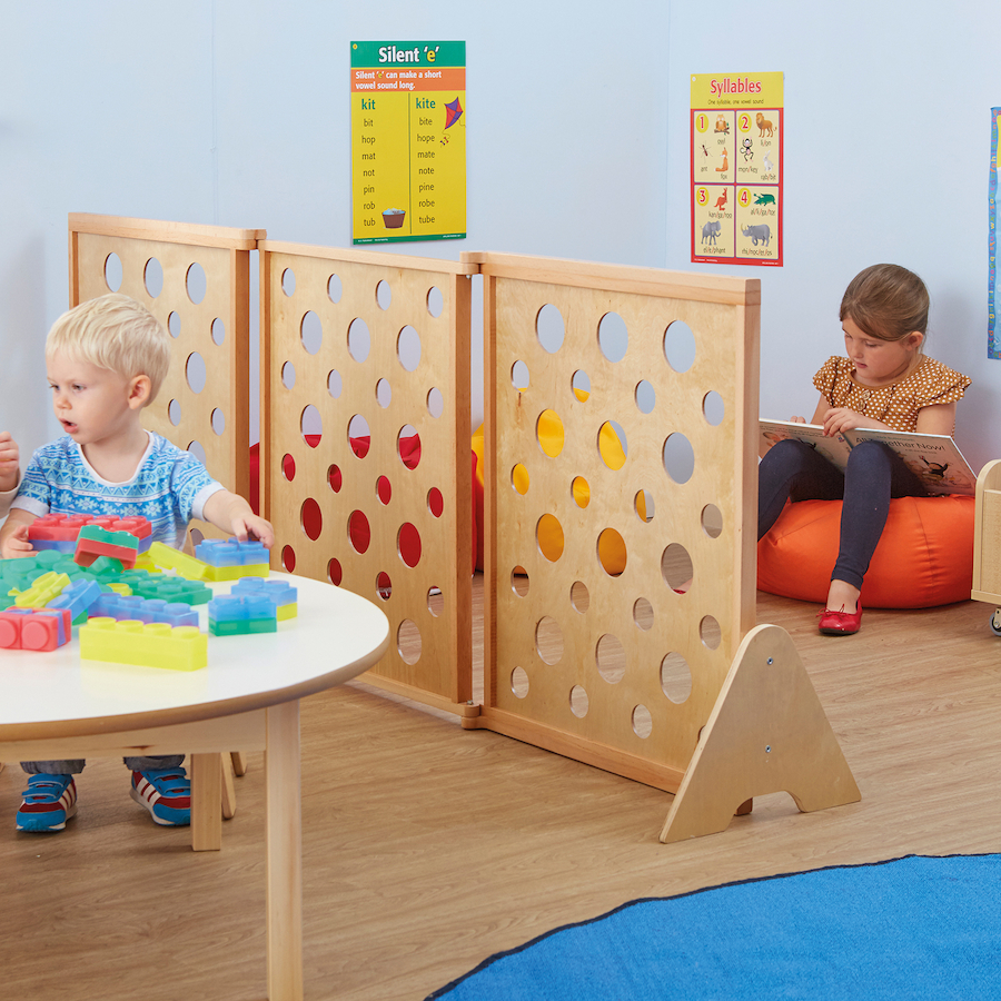 Room Dividers For Kids Bedrooms: Buy Natural Wooden Folding Room Dividers
